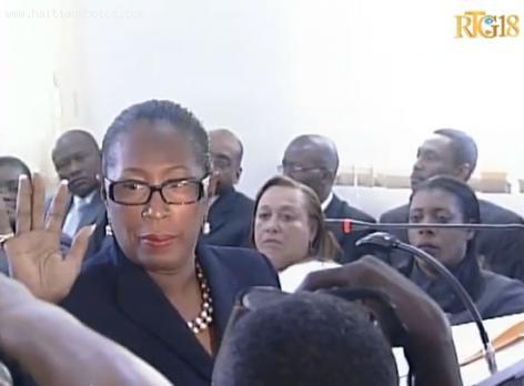 CTCEP Member Margareth Giraud St-Louis (Executive Power)