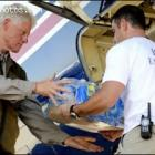 Bill Clinton In Haiti Earthquake - January 12, 2010