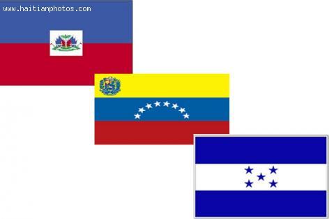 Haiti, Venezuela,  Honduras, Flag