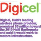 Digicel Donation - Haiti Earthquake - January 12, 2010