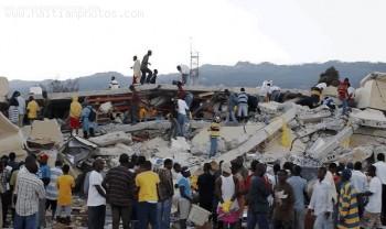 Rescue Of Victims - Haiti Earthquake - January 12, 2010
