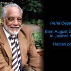 Haitian Poet Rene Depestre