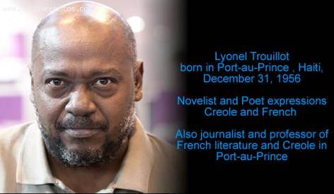 Novelist and poet, Lyonel Trouillot