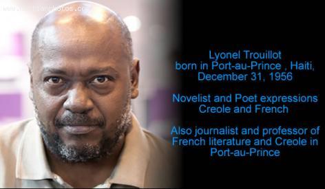 Novelist and poet, Lyonel Trouillot