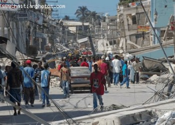 Streets Of Port-au-Prince - Haiti Earthquake - January 12, 2010