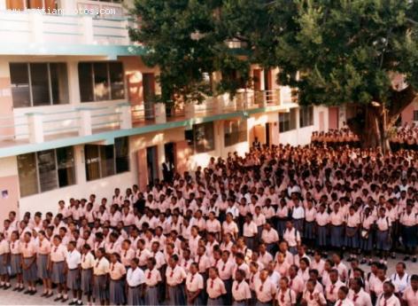 College Regina Assumpta, an all-girl School in Cap-Haitian