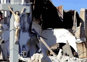 Building Collapsed - Haiti Earthquake - January 12, 2010