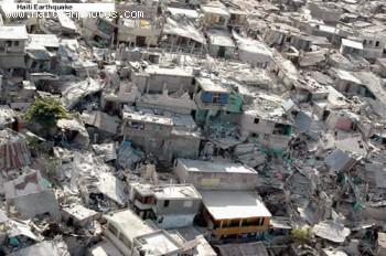 Total Destruction - Haiti Earthquake - January 12, 2010