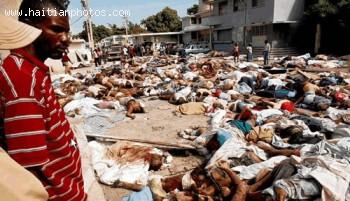 Body Count - Haiti Earthquake - January 12, 2010