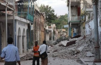 Jacmel Hit By Haiti Earthquake - January 12, 2010