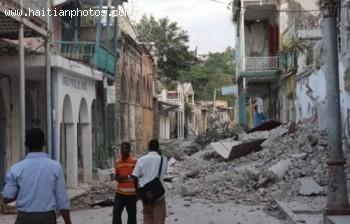 Jacmel Hit By Haiti Earthquake - January 12, 2010