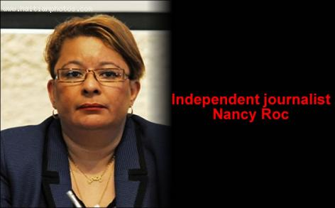 Independent journalist Nancy Roc