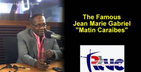 Jean Marie Gabriel of Matin Caraibes - Radio Caraibes