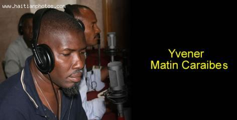 Yvener of Matin Caraibes - Cradio Television Caraibes