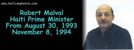 Robert Malval, Haiti prime minister