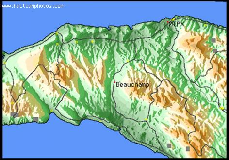 Beauchamp Haiti, Map