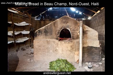 A Bakery or Bread making in Beauchamp, Haiti Boulanger