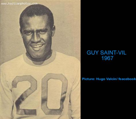 Guy Saint-Vil, Haitian Soccer Player