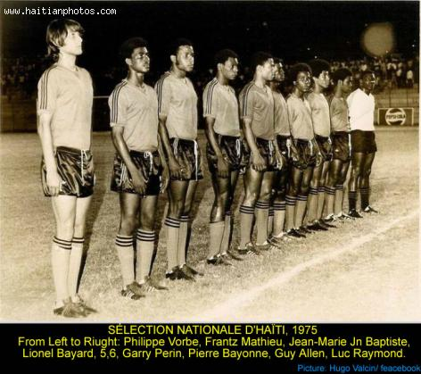 Haiti Soccer National Team, 1974