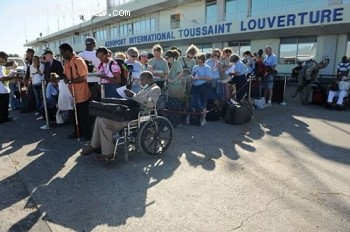 Haiti International Airport Toussaint Louverture - Haiti Earthquake - January 12, 2010