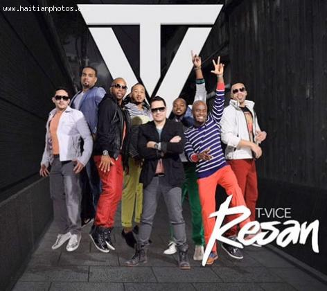 Here is T-Vice in their latest music album, Resan