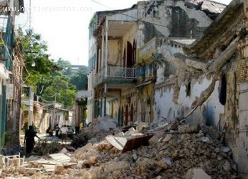 City Of Jacmel - Haiti Earthquake - January 12, 2010