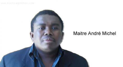 Haitian Attorney Andre Michel