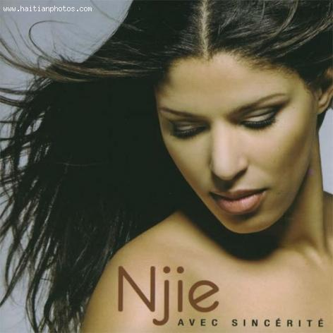 Here is the beautiful singer Njie