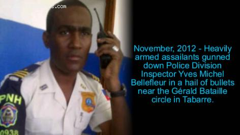 Police Officer Yves Michel Bellefleur - Assassinated
