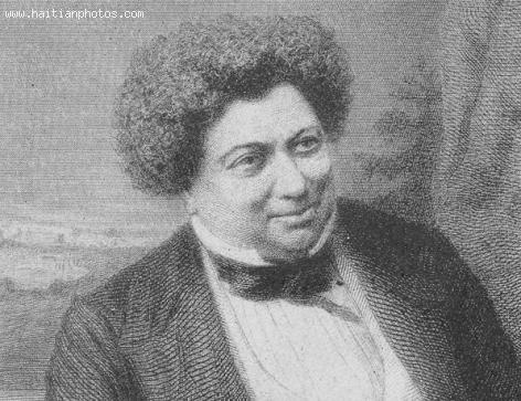 French poet Alexandre Dumas with Saint-Domingue origin