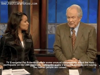 Evangelist Pat Robertson Blaming Haiti For Earthquake - January 12, 2010