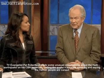 Evangelist Pat Robertson Blaming Haiti For Earthquake - January 12, 2010