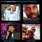 List of Haitian Musicians turned Politicians
