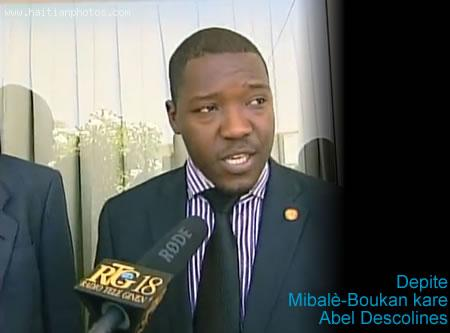 Depite of Mirebalais-Boucan Carre, Abel Descolines