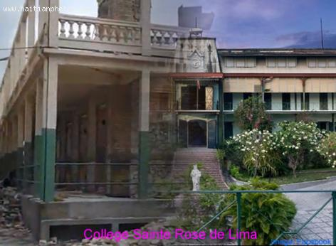 College Sainte Rose de Lima in Port-au-Prince