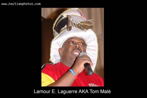 Beloved Haitian Comedian Tom Male, AKA Lamour E. Laguerre