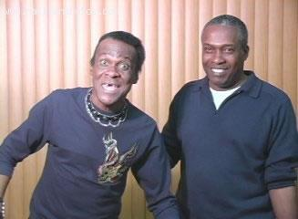 Haitian comedian Papa Pye, AKA Jean-Claude Joseph