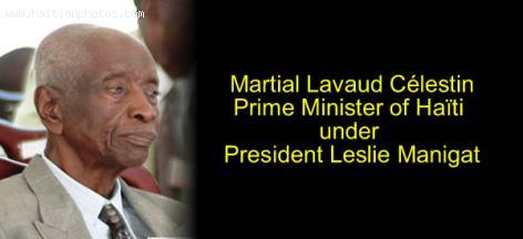 Martial Lavaud Celestin, Prime Minister of Haiti