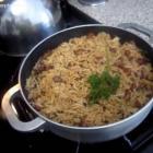 Rice Red Beans or Diri Ak Pwa Cole