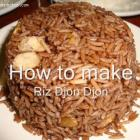 Diri Ak Jon Jon or Rice Mushrooms - Diri Ak Djondjon