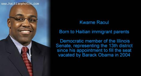 Kwame Raoul, Democratic member of the Illinois Senate,