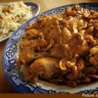 Poul ak Nwa - Chicken with Cashews