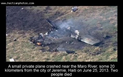 Small private airplane crashed near Jeremie