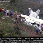 Uruguayan CASA212 aircraft crash in Fonds-Verrettes