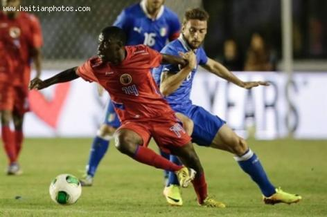 Haiti Surprises Italy with a Tie Game