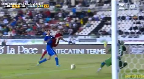Haiti Ties Italy in Final Play