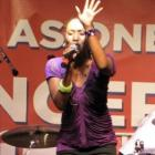 Misty Jean Performing For Haiti