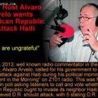 Radio Host Alvaro Arvelo wants Dominican Republic to Attack Haiti