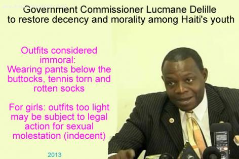 Restore Decensy by Government Commissioner Me Lucmane Delille