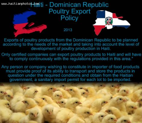 Chicken and egg fight between Haiti and Dominican Republic